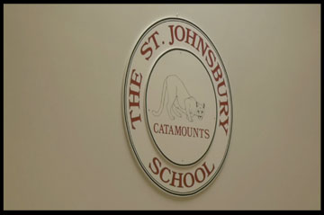 stj school sign